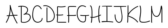 Mf Delicate Little Flower Font UPPERCASE