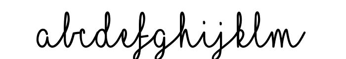Mf I Love Glitter Font LOWERCASE