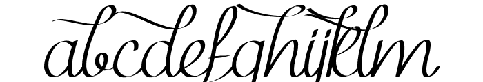 Mf Kind & Witty Font LOWERCASE