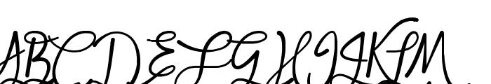 Mf Queen Leela Font UPPERCASE