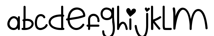 Mf Still Kinda Ridiculous 2 Font LOWERCASE