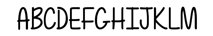 Mf Totally Awesome Font UPPERCASE