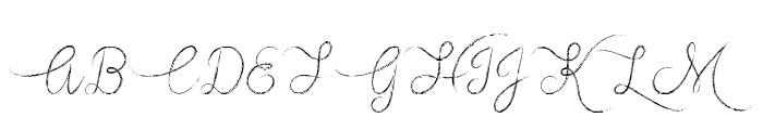 Mf Vampire Heart Font UPPERCASE