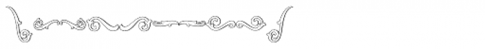 MFC Aldercott Monogram 25000 Impressions Font OTHER CHARS