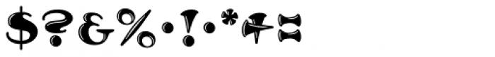MFC Arkena Monogram 1000 Impressions Font OTHER CHARS