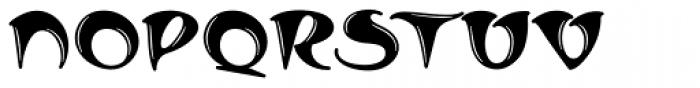 MFC Arkena Monogram 1000 Impressions Font UPPERCASE