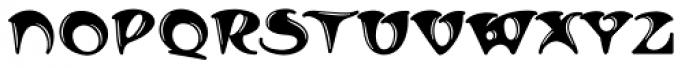MFC Arkena Monogram 1000 Impressions Font LOWERCASE