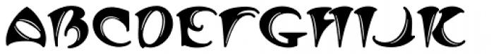 MFC Arkena Monogram 250 Impressions Font UPPERCASE
