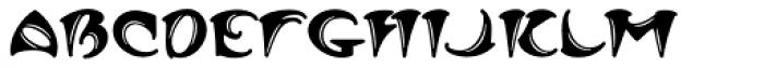 MFC Arkena Monogram 250 Impressions Font LOWERCASE