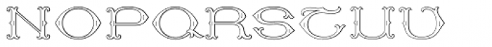 MFC Baelon Monogram 10000 Impressions Font UPPERCASE