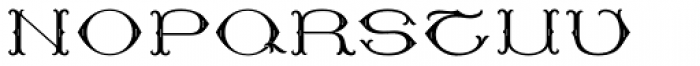 MFC Baelon Monogram One 10000 Impressions Font LOWERCASE