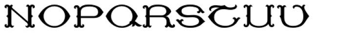 MFC Baelon Monogram Solid 25000 Impressions Font UPPERCASE