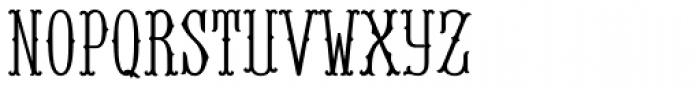 MFC Baelon Monogram Solid 25000 Impressions Font LOWERCASE
