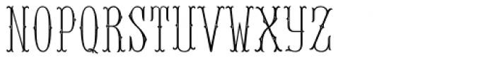 MFC Baelon Monogram Two 10000 Impressions Font UPPERCASE