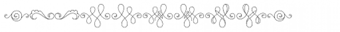 MFC Billow Monogram 10000 Impressions Font OTHER CHARS
