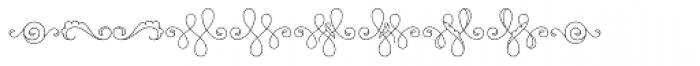 MFC Billow Monogram 250 Impressions Font OTHER CHARS