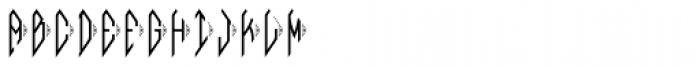 MFC Bindi Monogram (10000 Impressions) Font LOWERCASE