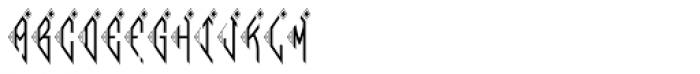 MFC Bindi Monogram (250 Impressions) Font UPPERCASE