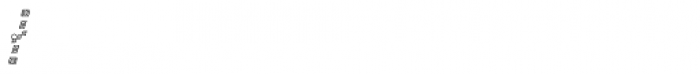 MFC Bontebok Monogram 1000 Impressions Font OTHER CHARS