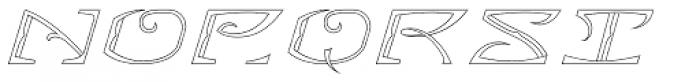 MFC Bontebok Monogram 1000 Impressions Font LOWERCASE