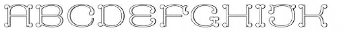 MFC Capulet Monogram 10000 Impressions Font UPPERCASE