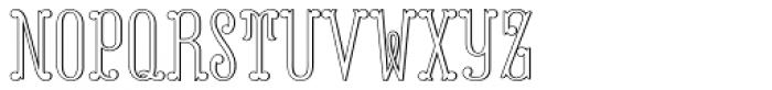 MFC Capulet Monogram 10000 Impressions Font LOWERCASE