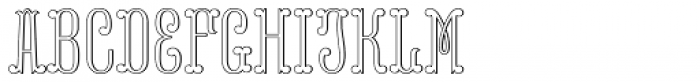 MFC Capulet Monogram 250 Impressions Font LOWERCASE