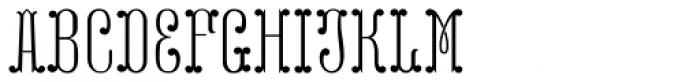 MFC Capulet Monogram Two 250 Impressions Font UPPERCASE