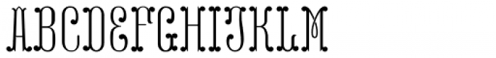 MFC Capulet Monogram Two 25000 Impressions Font LOWERCASE