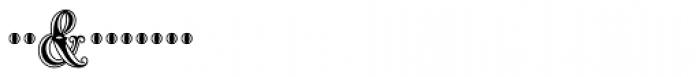 MFC Carnivale Monogram 25000 Impressions Font OTHER CHARS