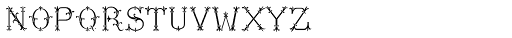 MFC Chaplet Chroma Mngm 10000 Impressions Font LOWERCASE