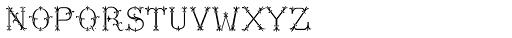 MFC Chaplet Chroma Mngm 250 Impressions Font LOWERCASE