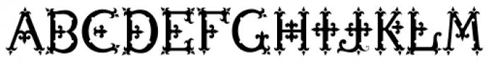 MFC Diresworth Monogram Back Font UPPERCASE