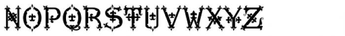 MFC Diresworth Monogram Back Font LOWERCASE