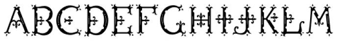 MFC Diresworth Monogram Fill Font UPPERCASE
