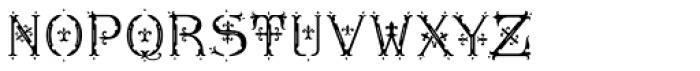 MFC Diresworth Monogram Fill Font LOWERCASE