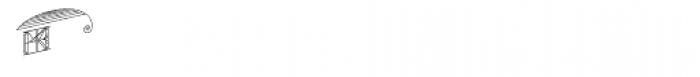 MFC Escutcheon Monogram (10000 Impressions) Font UPPERCASE