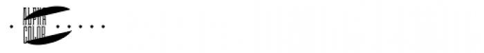 MFC Escutcheon Monogram (250 Impressions) Font OTHER CHARS