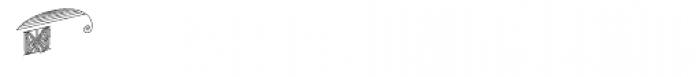 MFC Escutcheon Monogram (250 Impressions) Font UPPERCASE