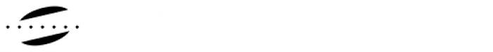 MFC Escutcheon Monogram Fill (1000 Impressions) Font OTHER CHARS