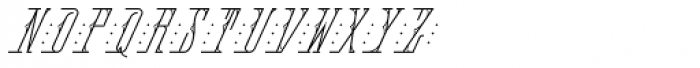 MFC Fantasie Monogram 10000 Impressions Font UPPERCASE