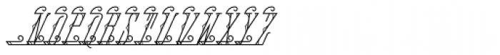MFC Fantasie Monogram 10000 Impressions Font LOWERCASE