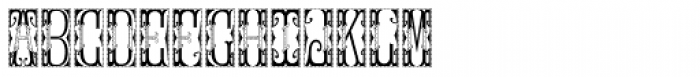 MFC Gilchrist Initials Split Font LOWERCASE
