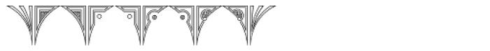 MFC Glencullen Monogram 1000 Impressions Font OTHER CHARS