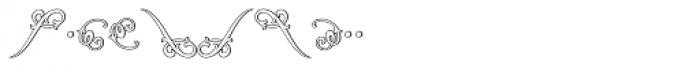 MFC Jewelers Monogram 10000 Impressions Font OTHER CHARS