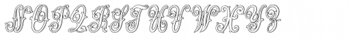 MFC Jewelers Monogram 10000 Impressions Font UPPERCASE