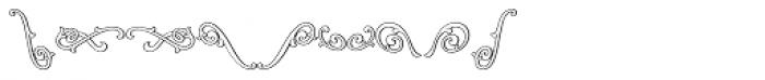 MFC Jewelers Monogram 25000 Impressions Font OTHER CHARS