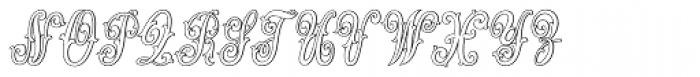 MFC Jewelers Monogram 25000 Impressions Font UPPERCASE