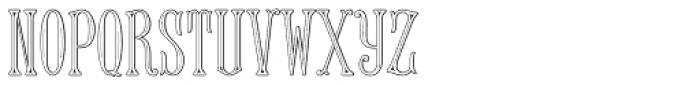 MFC Keating Monogram 250 Impressions Font LOWERCASE