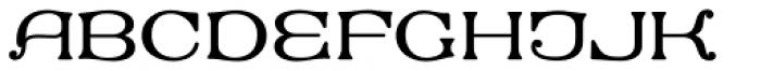 MFC Keating Monogram Solid 1000 Impressions Font UPPERCASE